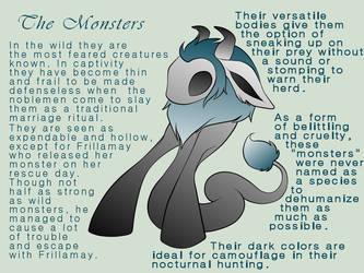 The Monsters by BekaDavisStudios