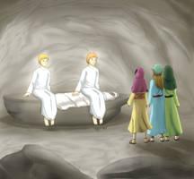 He is Risen by Vanzkie