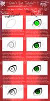 ++ Eye Tutorial ++ by CrimxonButterfliex