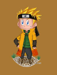 2er: 6ere hokage naruto by fly30017