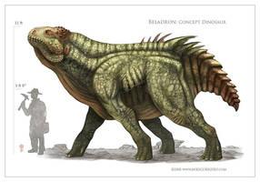 Beladron Dinosaur by MIKECORRIERO