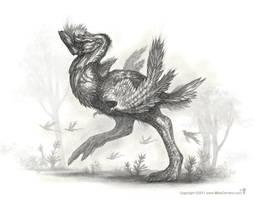 Rhinoraptor - Thunderbird by MIKECORRIERO