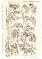 Alienspecies Thumbnails by MIKECORRIERO