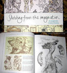 Sketching from the Imagination - art book by MIKECORRIERO