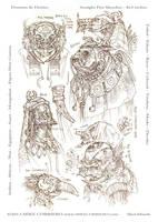 demons deities 02 by MIKECORRIERO