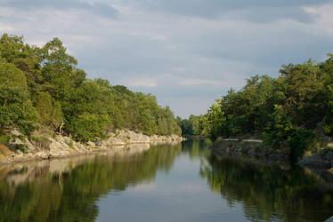 Great Falls Landscape by OraclePhoenix