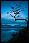 Blue light water by MessiahKhan