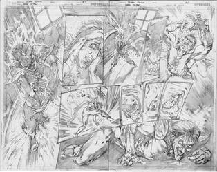 GreenLantern#12 page#08-09 by pansica
