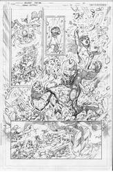 GreenLanterns#14 page01 by pansica
