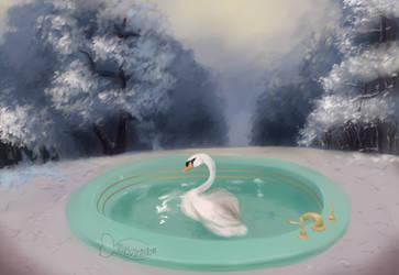 bathtub mermaid by magsimillion