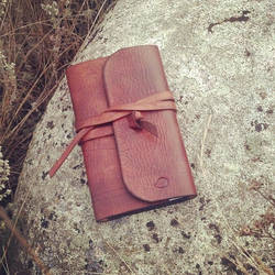 Leather Field Notes Cover by chadvonlind