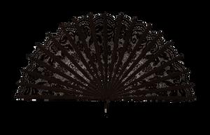 Black Fan by ViolettaLeStrange
