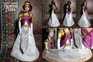 LoZ: Twilight Princess Zelda outfit commission by Leaf-nin
