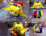 SM: Manga-style Sailor Moon felt tsum tsum by Leaf-nin