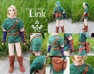 LoZ: Twilight Princess Link by Leaf-nin