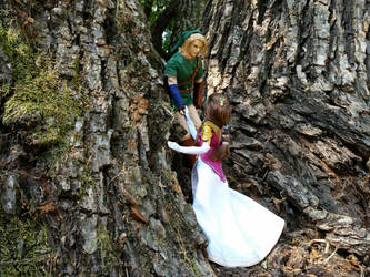 LoZ: Take my hand, Princess by Leaf-nin