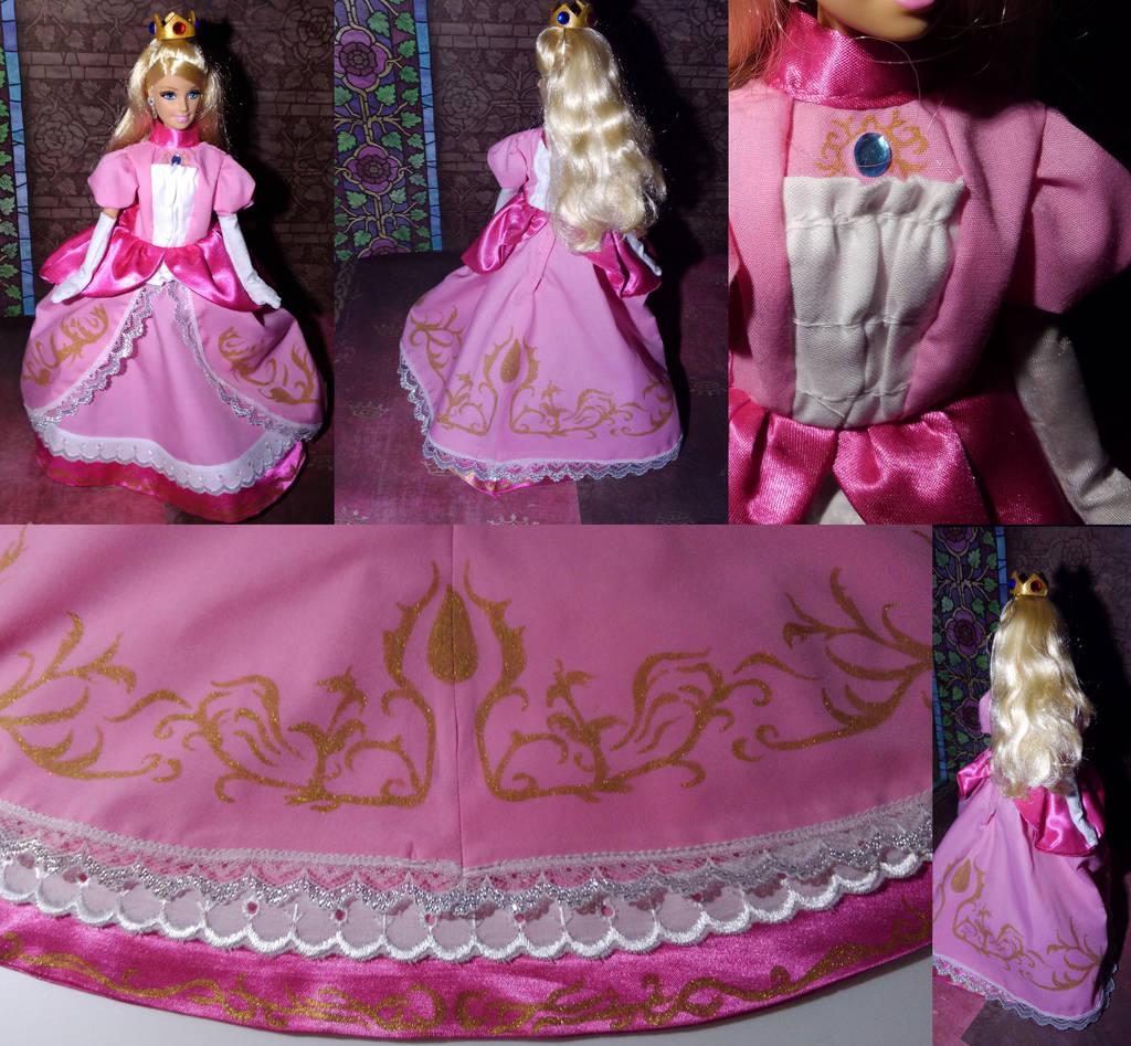 Smash: Princess Peach commission by Leaf-nin