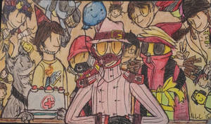 A bunch of people by The-Equinox-Arises