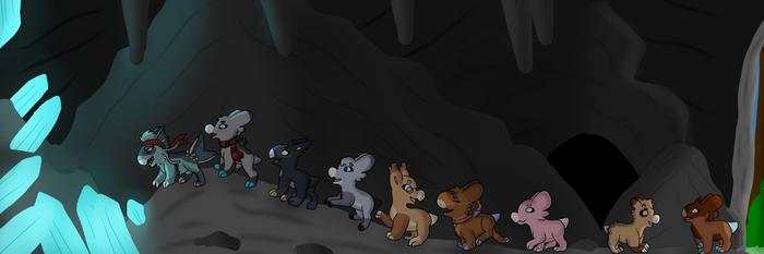 Wyngro: Cave Exploring by RaindropLily