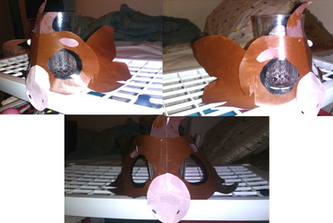 Wyngro: Malt as a 3D Mask by RaindropLily