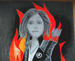 Katniss by jeannemoon