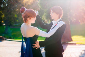 Anastasia and Dimitri by KoniCosplay
