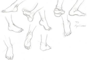 Feet by morea