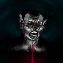 Bram Stroker Dracula - Bat Creature by Loopeznik