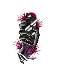 ZOMBIE HAND by Loopeznik