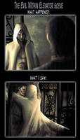 The Elevator Scene by Pegalynx
