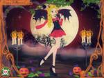 .: Cute 'Spooky' Devil :. by thebigblackdevil5
