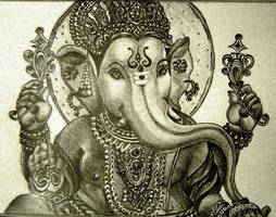 Lord Ganesh by piyali