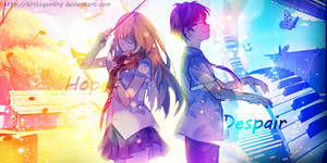 Signature - Your Lie in April by KiritoGaming