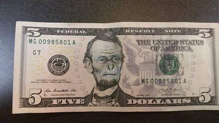 Ape Lincoln by Shmyah