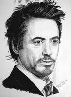 ROBERT DOWNEY JR. by RobertoBizama