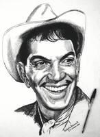 Cantinflas by RobertoBizama