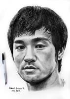 Bruce Lee. by RobertoBizama