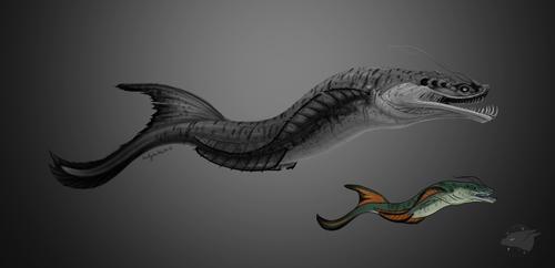 River Monster by BudgieBluBird
