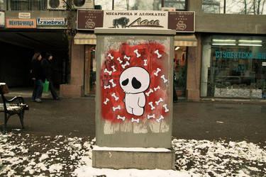 Snowy day in hell by ivan-bliznak