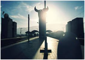 Skopje Remix - Train station by ivan-bliznak