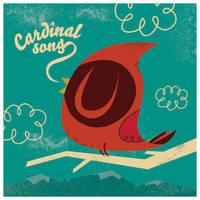Cardinal Song by ivan-bliznak
