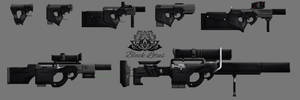 Black Lotus Modular Weapons Systems by Meirnon