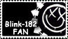 Blink-182 Fans Stamp by SusantheMartian