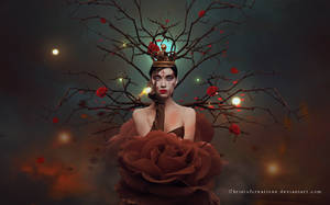 Queen of Roses by ChristofCreations