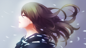 Snow Lady by emi-nyan