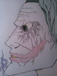 The Joker | Colored | Face by Finding-The-Time