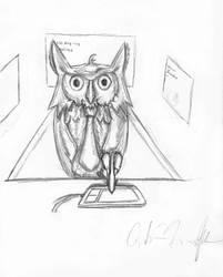 Night Owl by Dingbat1991