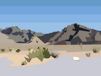 Low-Poly Desert Landscape 2 by Dingbat1991