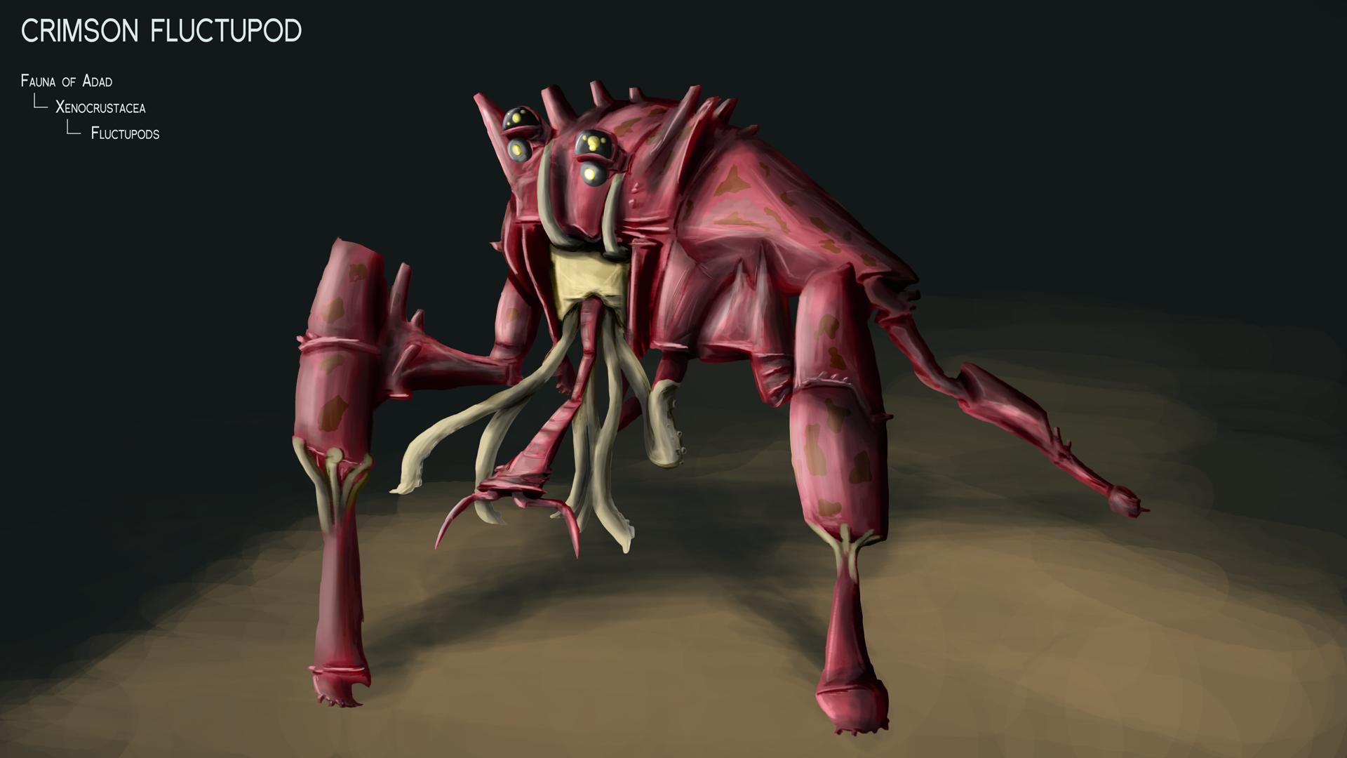 Crimson Fluctupod by Dingbat1991