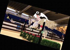 Cavallo 2018 halloween jumping by KendraLongson